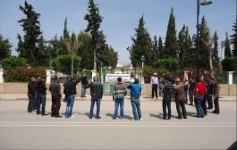 معطلوا اقليم الدريوش يحتجون أمام عمالة الإقليم
