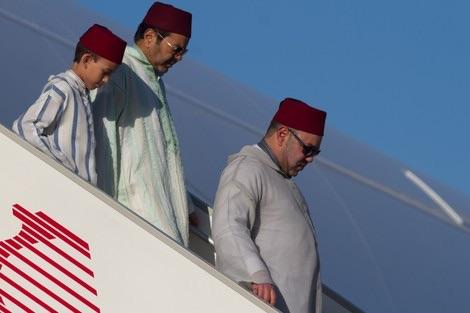 خاص. محمد السادس يعود إلى أبوظبي ويطير إلى السعودية يوم الثلاثاء للقاء الملك سلمان