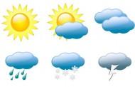 الطقس اليوم الاثنين. جو معتدل و أمطار ضعيفة بهذه المناطق