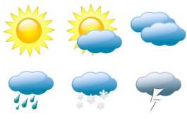 أمطار ورياح في توقعات الطقس ليوم غد الاثنين