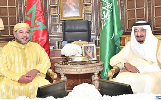 الملك يتبادل التعازي مع العاهل السعودي ويدعوه لزيارة المغرب