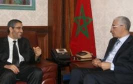 عُماري يلاقي رئيسي مجلسي النواب والمستشارين