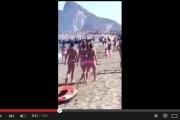 فيديو : شحن المخدرات بشاطئ جبل طارق في واضحة النهار