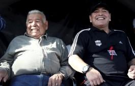 وفاة والد الأسطورة الأرجنتيني 'دييغو مارادونا'