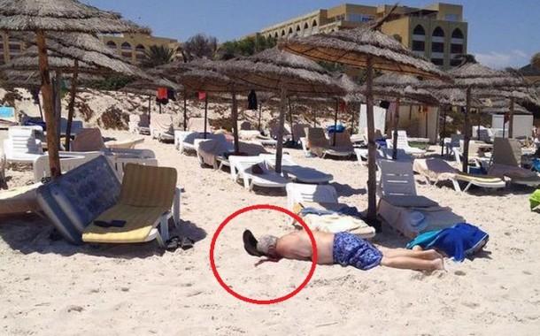 صور صادمة +18. قتلى في هجوم ارهابي على شاطئ سوسة في تونس