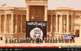 فيديو. داعش يعدم رمياً بالرصاص عشرات الجنود بساحة مسرح