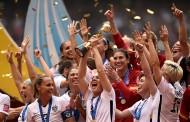 سيدات منتخب أمريكا يفزن بكأس العالم لكرة القدم بعد تغلبهن على سيدات اليابان