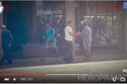 فيديو . ردة فعل المغاربة عند رمي العلم الوطني أمامهم