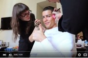 فيديو . كريستيانو رونالدو يستعرض مهاراته متنكرا في مدريد