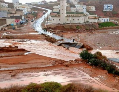 فقدان أربعة أشخاص من أسرة واحدة جراء فيضانات غزيرة بتارودانت