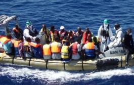 البحرية الملكية تنقذ 39 متسللاً إفريقيا لإسبانيا عبر مضيق جبل طارق