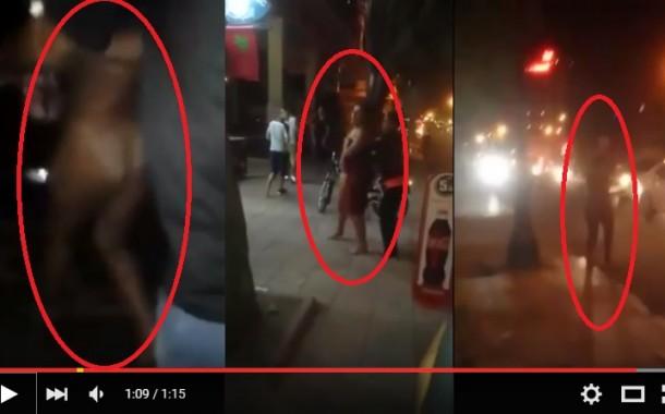 بالفيديو. فتاة عارية تماماً تتجول بشوارع مراكش ليلاً