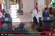 """فيديو . السيسي يخاطب الرئيس التونسي بـ """" فخامة الرخيص """""""