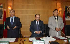 إلياس العماري يفتتح أول دورة عادية لمجلس جهة طنجة تطوان الحسيمة بالأمازيغية