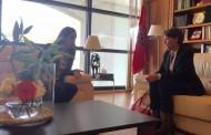 سفيرة رومانيا تنفي لـ'بُوعيـدة' الامتناع عن تسليم تأشيرات لطلبة مغاربة وذويهم