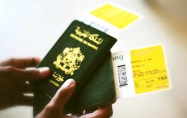 """""""الباسبور"""" المغربي يتيح زيارة 56 وجهة عبر العالم بدون تأشيرة"""
