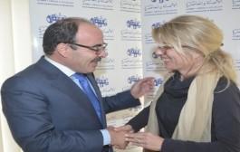 'الياس العُماري' يستقبل سفيرة السويد بمقر حزب 'الأصالة والمعاصرة' بالرباط