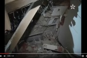 فيديو. ضحايا في انهيار معمل قيد البناء بمكناس بسبب الغش