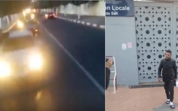 بالفيديو. أفواج من السيارات في استقبال حاشد لفاضح 'الزفت المغشوش'بأسفي