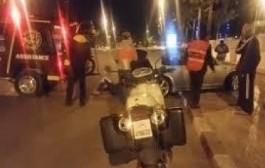 سطات. مصرع شرطي دراج بعد اصطدامه بسيارة كانت بسرعة جنونية