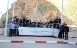 شبيبة 'الحركة الشعبية' تدعو من الشريط الحدودي بالسعيدية إلى تجاوز الخلافات العالقة بين المغرب والجزائر