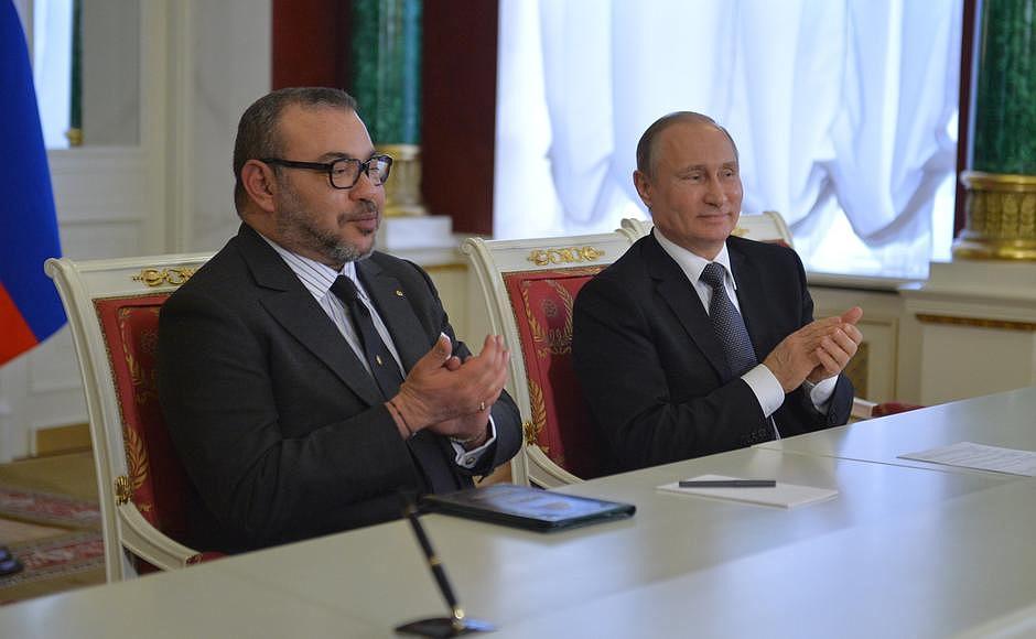 ضباط مغاربة يطيرون إلى روسيا من أجل صفقات سلاح  Putin-1