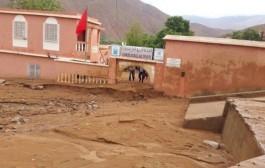 تعليق الدراسة في المؤسسات التعليمية بتارودانت بسبب الفيضانات
