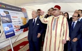 الملك محمد السادس يقف بميناء طنجة المتوسط على تدابير استقبال الجالية المقيمة بالخارج