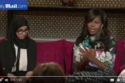 فيديو . 'ميشال أوباما' تحاور فتيات مغربيات بمراكش حول التعليم