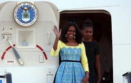 'أوباما' تغادر مراكش في ختام زيارة للمملكة