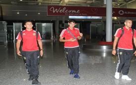 """المنتخب الوطني يصل إلى ألبانيا لإجراء معسكر تدريبي تحضيراً لمواجهة """"ساوتومي"""""""