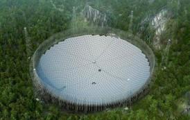 """الصين' تنتهي من بناء أكبر """"تلسكوب"""" راديو في العالم"""