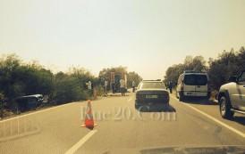 صور. حادثة سير مميتة لسيارة تابعة للقصر الملكي بالطريق السيار القنيطرة -الرباط