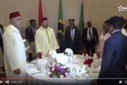 فيديو . الرئيس التانزاني يقيم حفل عشاء على شرف الملك محمد السادس