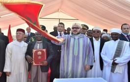 الملك محمد السادس يعطي انطلاقة أشغال بناء مسجد باسمه في العاصمة التنزانية