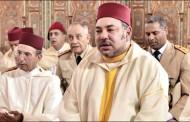 الملك محمد السادس يؤدي صلاة الجمعة بمسجد ابراهيم الخليل بالدار البيضاء