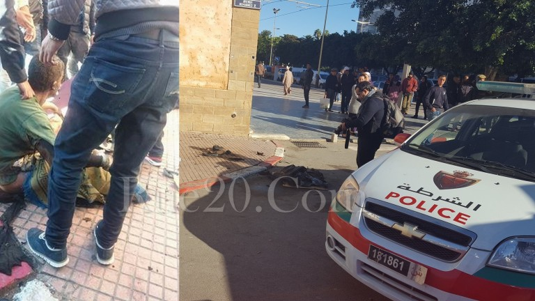 وفاة بائع هواتف مستعملة أحرق جسده إحتجاجاً وسط الرباط