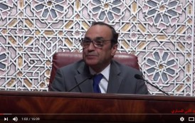 فيديو . الحبيب المالكي يخطب على كرسي رئاسة مجلس النواب