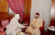 الملك محمد السادس يستقبل نجل شيخ البودشيشيين الراحل