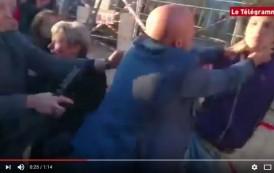 فيديو: شاب بريطاني يصفع رئيس الحكومة الفرنسية السابق 'مانويل فالس'