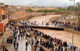 فيديو. الفيضانات تعزل ساكنة كلميم وتتسبب في خسائر كبيرة