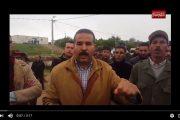 فيديو . إعادة تمثيل 'مذبحة' الناظور وسط تطويق أمني كبير