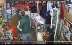 فيديو . 'نينجا' مسلحة تهجم على محل لبيع الهواتف بالبيضاء