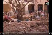 فيديو . تفاصيل انهيار منزل بمراكش أودى بحياة 3 أفراد من عائلة واحدة