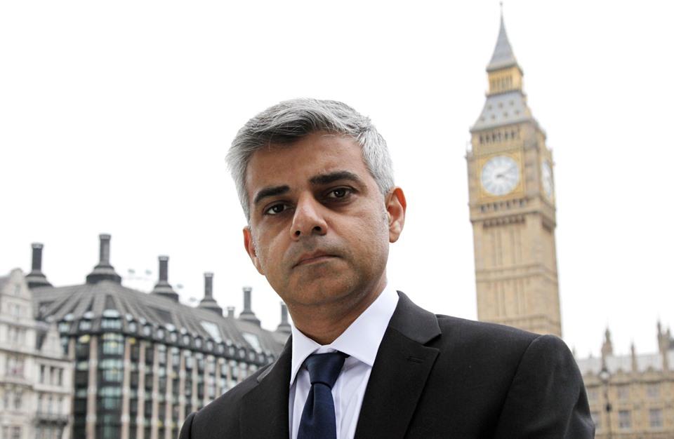 عمدة لندن المسلم يدعو لعدم استقبال ترامب بزيارة رسمية لبريطانيا