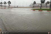 فيديو . 'ميني تسونامي' يضرب مدينة مارتيل و الفيضانات تهدد ساكنة المدينة