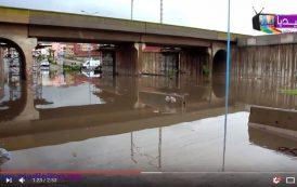 فيديو . مدينة المحمدية تتنفس تحت الماء