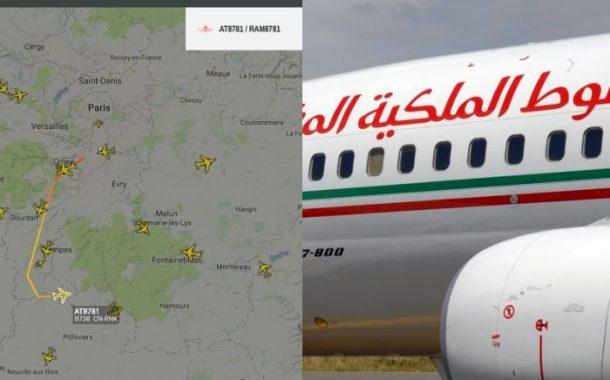 صورة | كوارث 'لارام' تتواصل ..طائرة هددت أرواح المسافرين بعد إقلاعها من فرنسا باتجاه المغرب