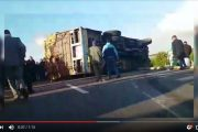 فيديو . حادث سير مروع بين الرباط و المحمدية