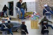 فيديو . إعادة تمثيل جريمة بشعة بالناظور راح ضحيتها زوجين